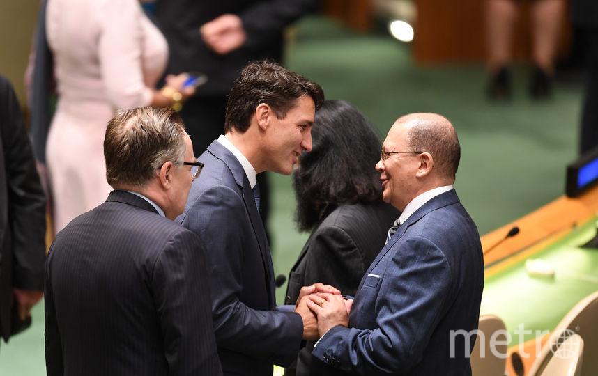 В Нью-Йорке проходит 73-я сессия Генассамблеи ООН. На фото: премьер-министр Канады Джастин Трюдо. Фото AFP