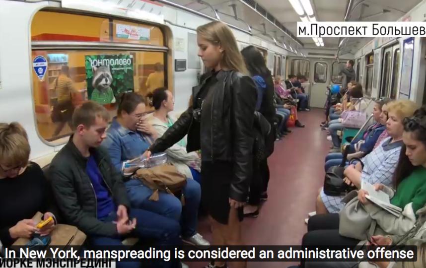 Видеоманифест Анны Довгалюк. Фото скриншот YouTube