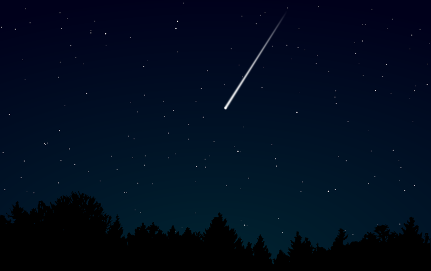 Москвичи смогут увидеть самый яркий и зрелищный звездопад осени. Фото pixabay