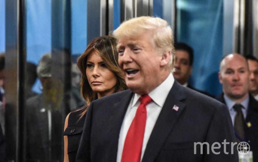 Мелания Трамп в ООН. Фото Getty