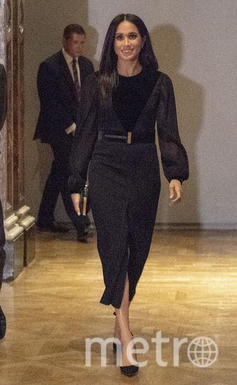 Меган Маркл побывала на открытии художественной выставки. Фото Getty