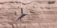 Уилл Смит совершил прыжок с вертолёта в ущелье Гранд-Каньона. Видео