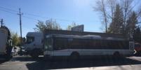 Грузовик столкнулся с пассажирским автобусом в подмосковном Домодедово