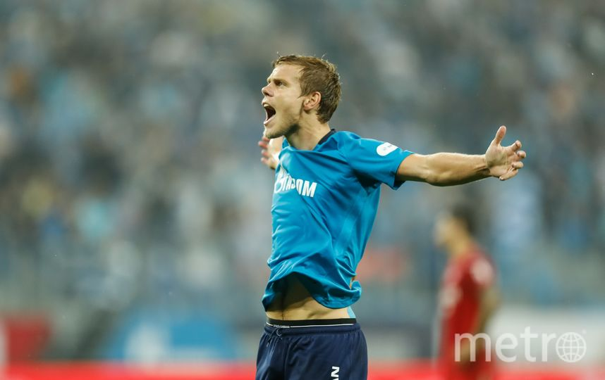 Кокорин забил первый гол после перенесённой травмы. Фото Getty