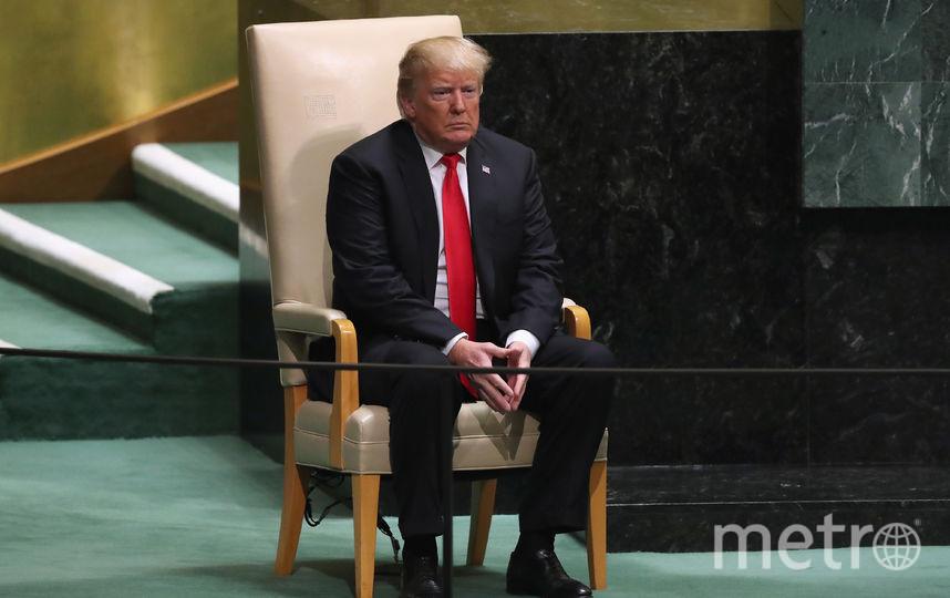 Трамп выступил на Совете Безопасности ООН. Фото Getty