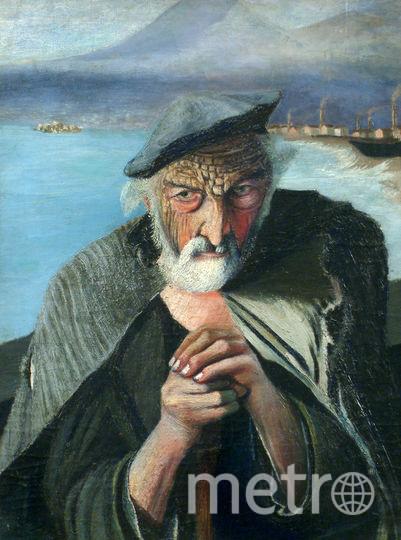 Старый рыбак. Фото Общественное достояние.