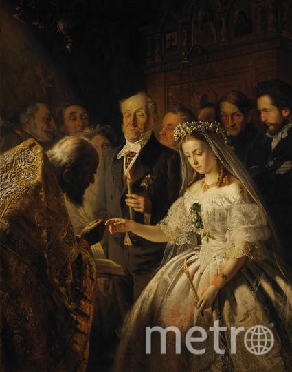 Неравный брак. Фото Общественное достояние.