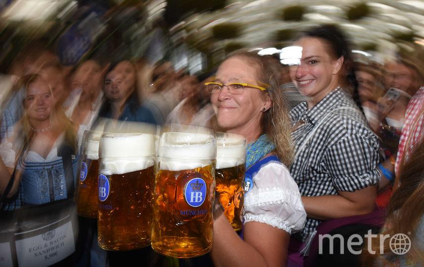 Праздник пива проходит весело. Фото AFP