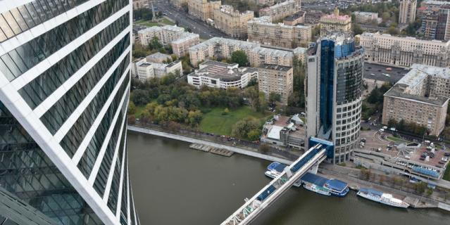"""Мост """"Багратион""""."""