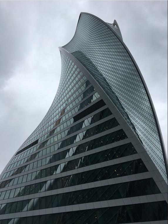 "Башня ""Эволюция"". Фото Дарья Буянова, ""Metro"""