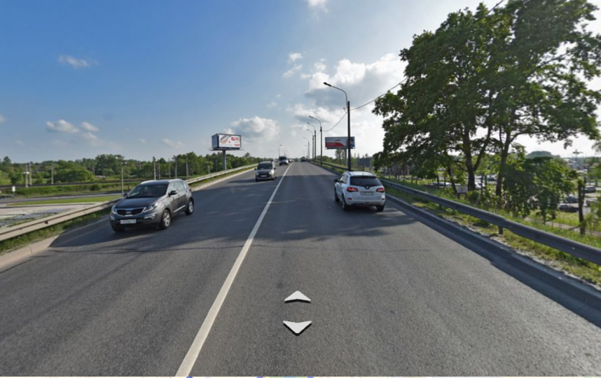Лиговский путепровод реконструируют. Фото яндекс.карты.