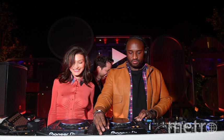 Белла Хадид на вечеринке Youtube в рамках Недели моды в Париже. Фото Getty