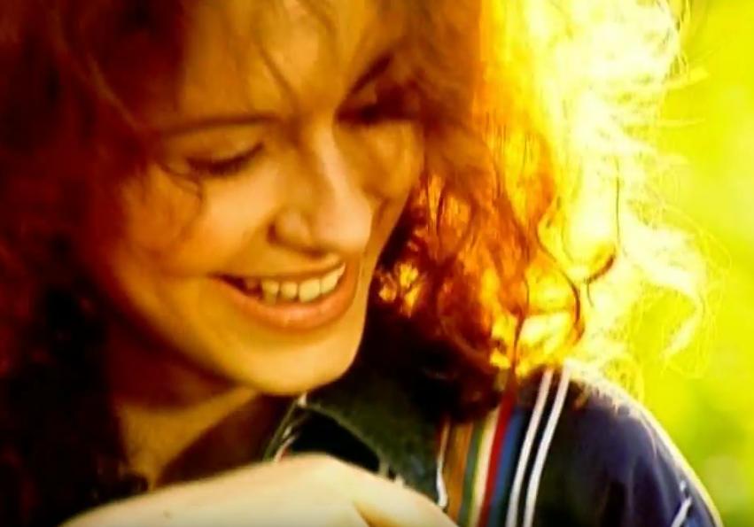 Ани Лорак в юности, молодости. Фото Скриншот Youtube