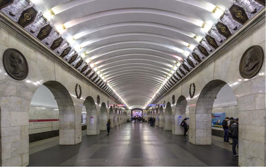 """Станция метро """"Технологический институт"""". Фото Wikipedia"""