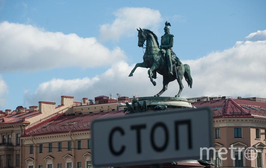 """Памятник Николаю I в Петербурге. Фото Святослав Акимов, """"Metro"""""""