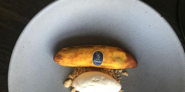 Десерт Baby Banana. Цена: 590 рублей.