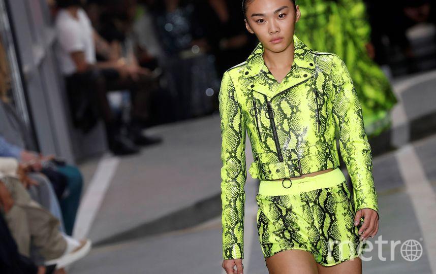 Показ Off-White на Неделе моды в Париже. Фото AFP