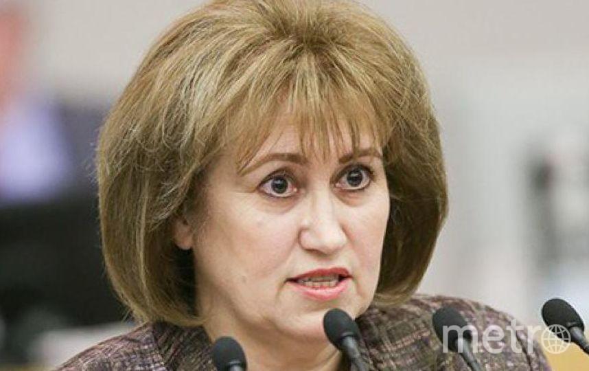 Вера Ганзя. Фото http://duma.gov.ru