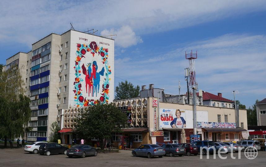 Художники со всего мира приехали раскрасить нефтяную столицу Татарстана – Альметьевск. Фото Предоставлено организаторами