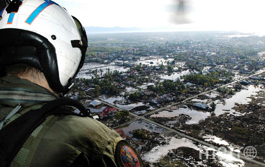 Число жертв землетрясения и цунами в Индонезии превысило 800 человек. Фото Getty