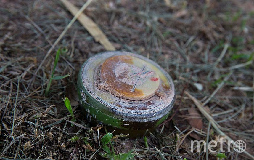 В результате взрыва мины в Горловке погибли трое детей. Фото Getty