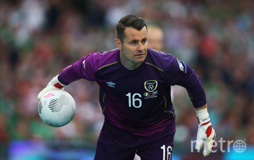 Вратарь сборной Ирландии Шей Гивен. Фото Getty