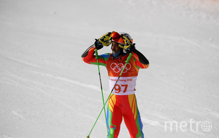 Лыжник из Эритреи. Фото Getty