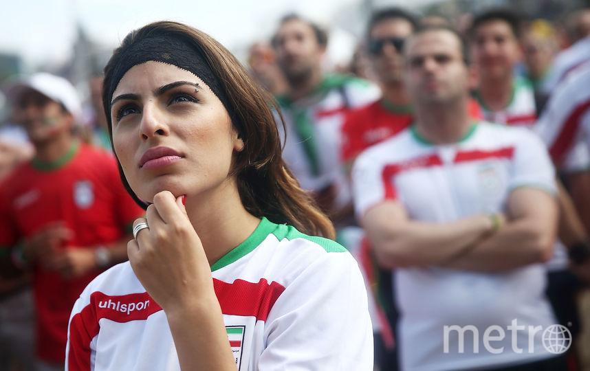 Болельщица сборной Ирана. Фото Getty