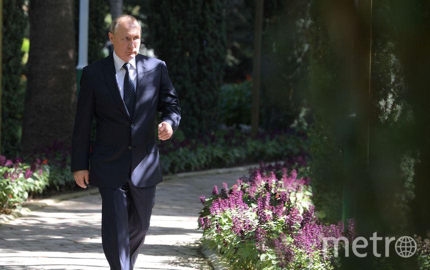 Путин побывал в Душанбе на саммите СНГ. Фото AFP