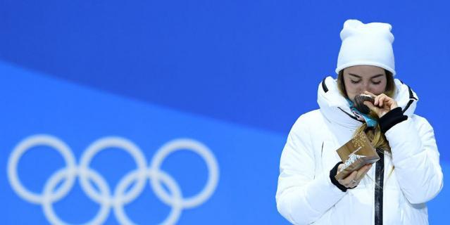 Двукратный бронзовый призёр Игр Юлия Белорукова.