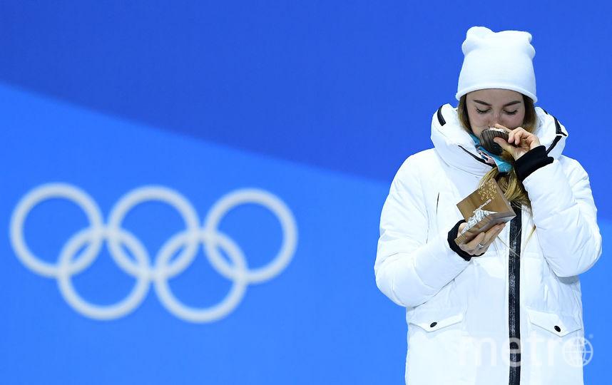 Двукратный бронзовый призёр Игр Юлия Белорукова. Фото Getty