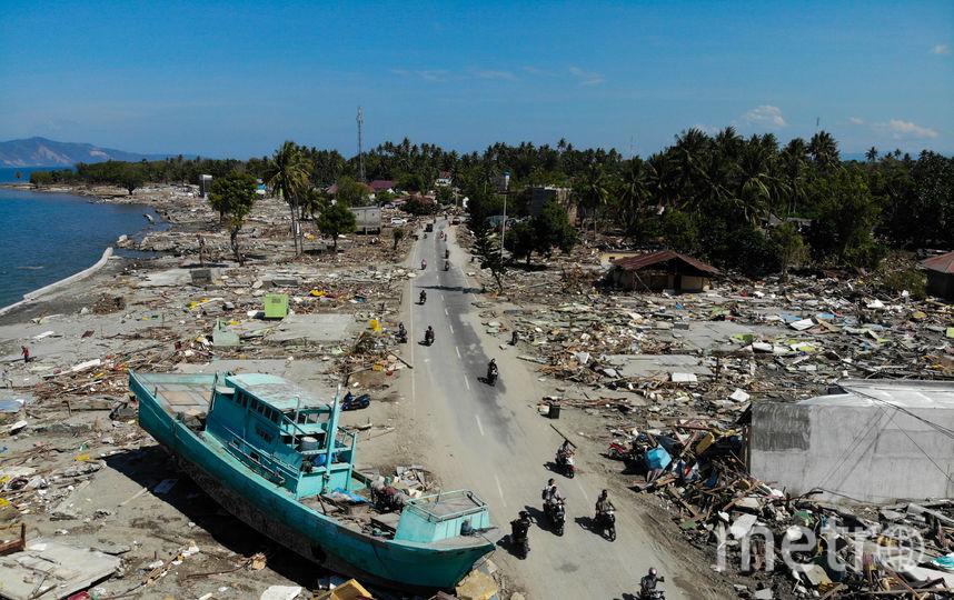 Последствия землетрясения и цунами в Индонезии. Фото AFP