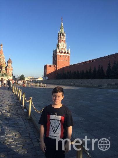"А еще мы побывали в Москве!. Фото снеткова лариса, ""Metro"""
