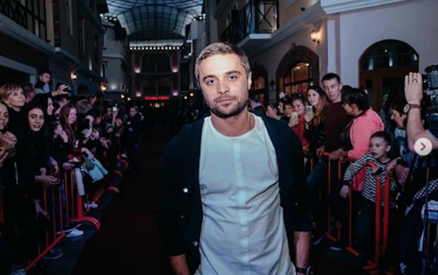 Актёр Илья Глинников. Фото www.instagram.com/glinnikov1st