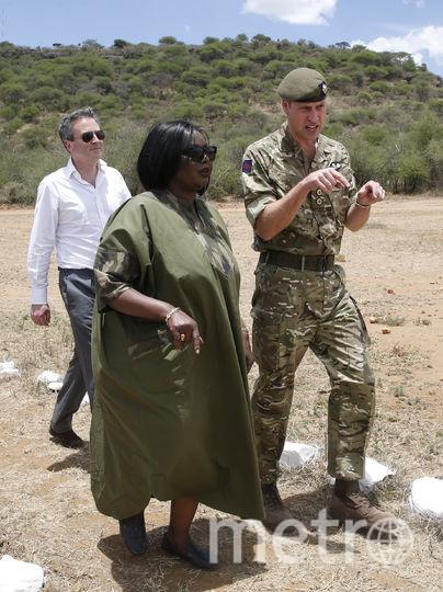 Принц Уильям побывал в Кении. Фото AFP