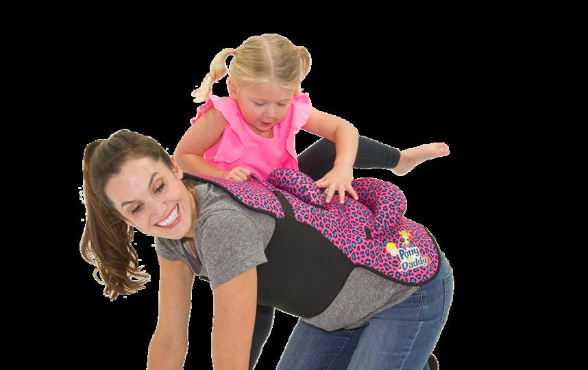 5. Оседлать папу и маму. Фото www.ponyupdaddy.com