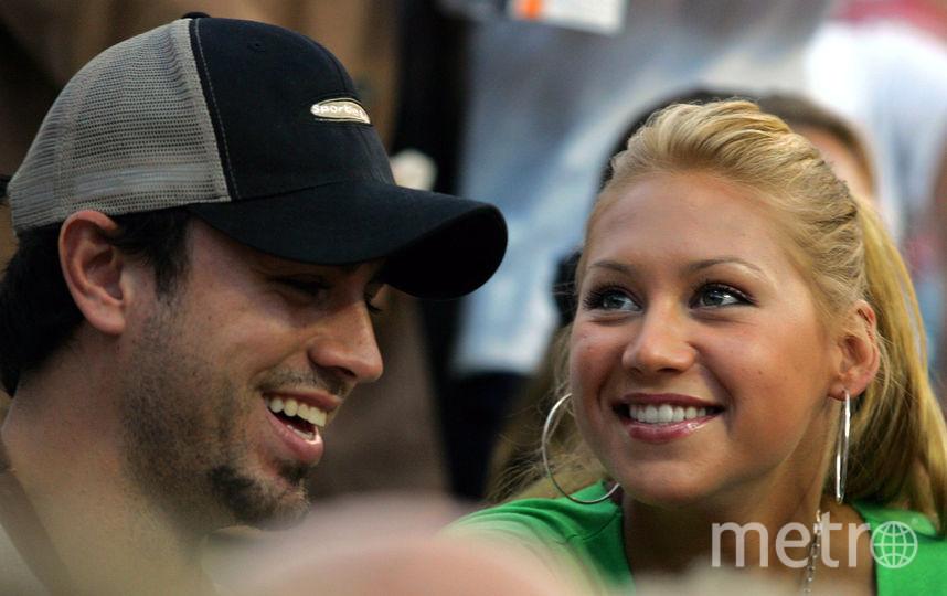 Энрике Иглесиас и Анна Курникова. Фото Getty
