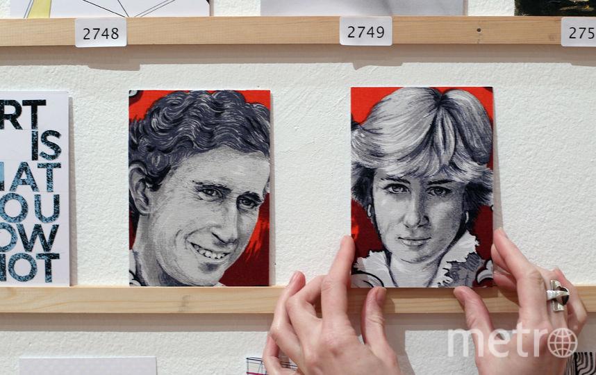 Портреты леди Ди и принца Чарльза. Фото Getty