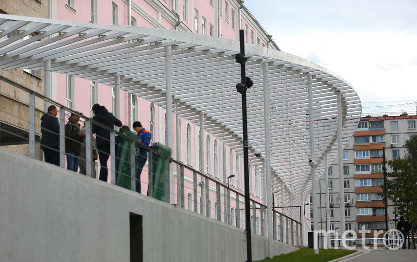 В Парк Горького можно попасть через новый вход. Фото Василий Кузьмичёнок