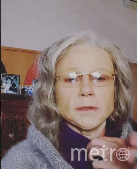 Мария Миронова в гриме. Фото https://www.instagram.com/mariya_mironova_actress/