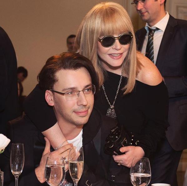 Алла Пугачёва и Максим Галкин. Фото Скриншот Instagram: maxgalkinru