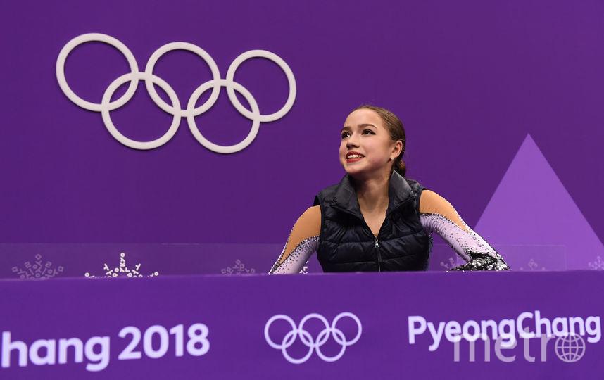 Российская фигуристка Алина Загитова на Олимпийских играх в Пхенчхане. Фото Getty