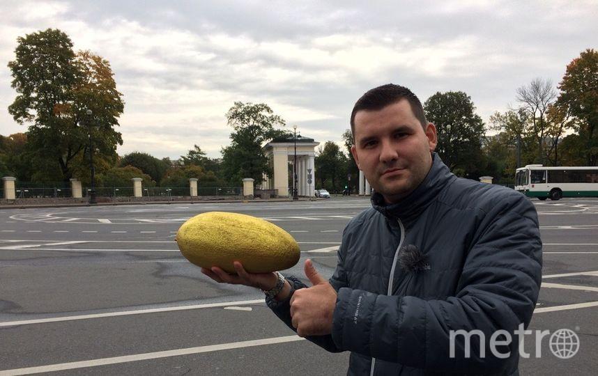 """Глава района-победителя получит сегодня """"золотую дыню"""", заявили активисты. Фото предоставлено активистами"""