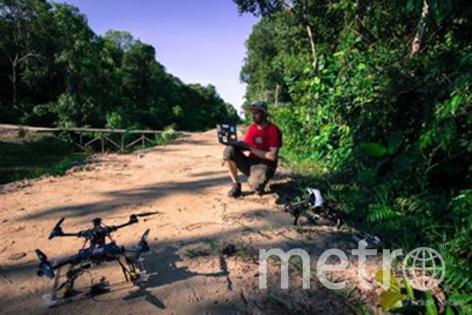 Дроны на страже незаконной охоты. Фото Предоставлено организаторами