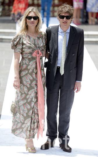 Кейт Мосс и Николай Фон Бисмарк. Фото Getty