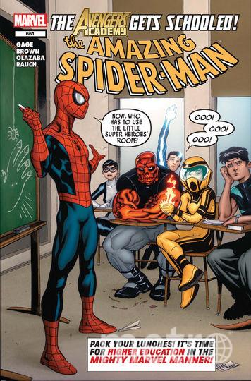 Преподаватель в Мексике ведёт занятия в костюме Человека-паука. Этим комиксом вдохновился мексиканский преподаватель. Фото Предоставлено организаторами