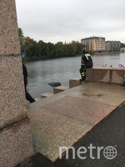 В Петербурге иномарка упала в воду: Видео. Фото ДТП и ЧП | Санкт-Петербург | Питер Онлайн | СПб, vk.com