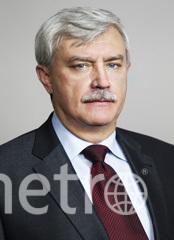 Георгий Полтавченко. Фото www.gov.spb.ru