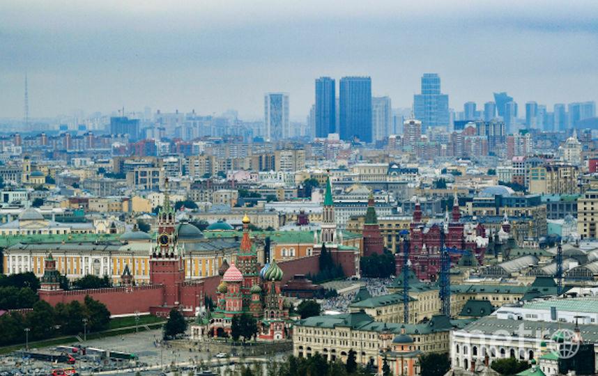 Центр Москвы. Фото РИА Новости
