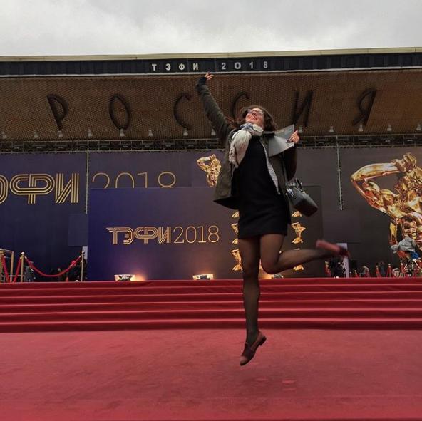 ТЭФИ вручают в Московском театре мюзикла. Фото скриншот https://www.instagram.com/vikafilosof/